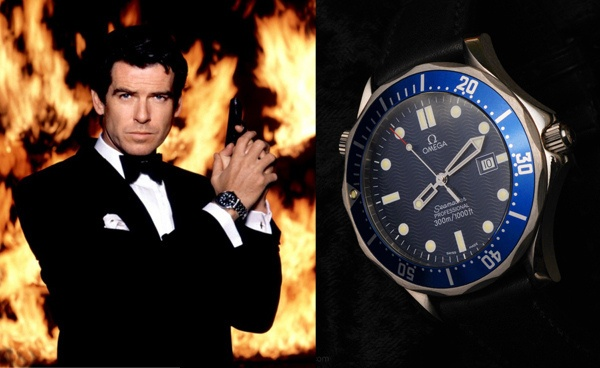 James Bond, les montres Omega-10