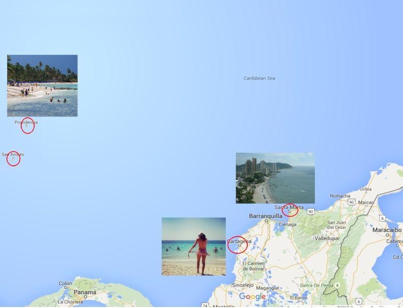 LES FLEURS DE LA COLOMBIE Caribb10
