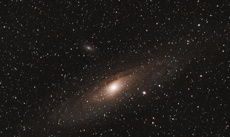 Mes deux premières photos de M31 + ajout M31-c10