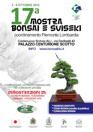 17° MOSTRA BONSAI E SUISEKI / Coordinamento Piemonte-Lombardia 2015 Coord11