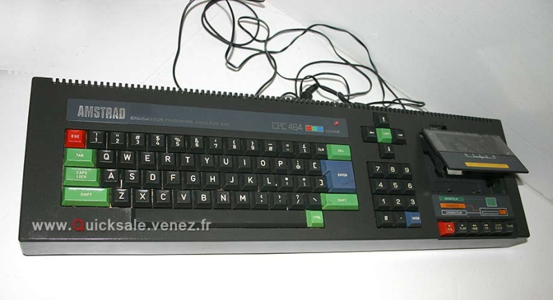 [VENDU] Ordinateur personnel Amstrad CPC464 couleur 64 K - 45€ Amstra11
