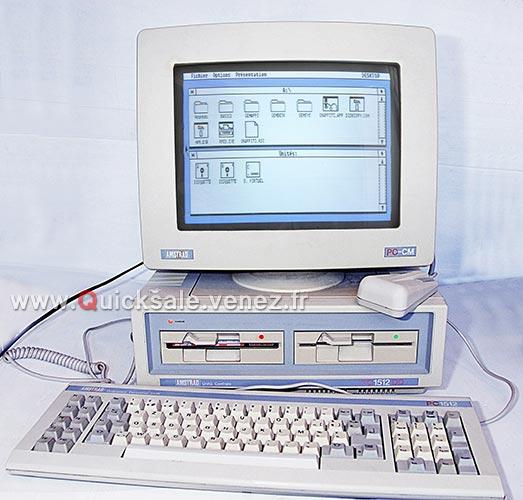 [VDS] PC ordinateur Amstrad 1512 DD de 1987 (Rare) 280€ Dd110
