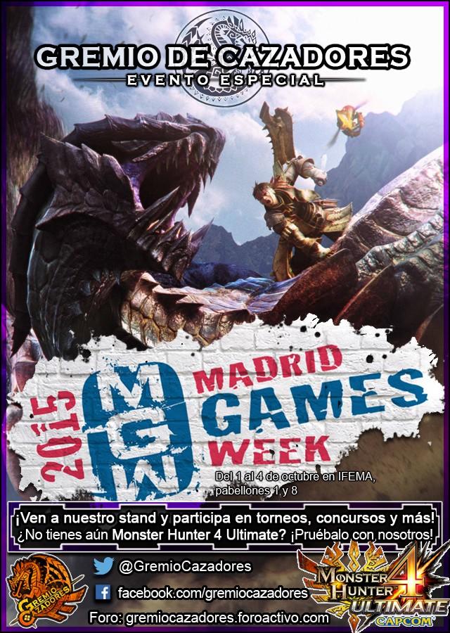 Madrid Games Week 2015 - Stand del Gremio de Cazadores 15_mgw10