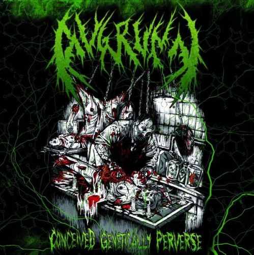 Avgrunn - Conceived Genetically Perverse (2012) Cover18