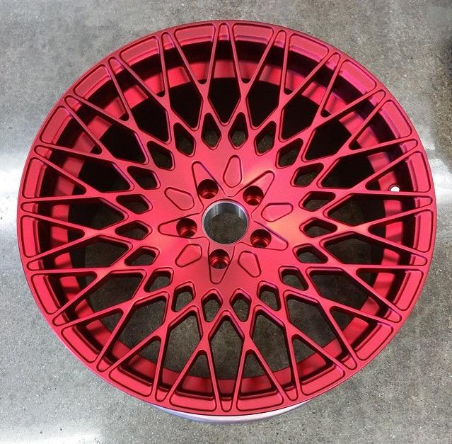 FS (~FT) Avant Garde M540 in Red Velvet, 20x10.5 ET+15 (with tires) Image10