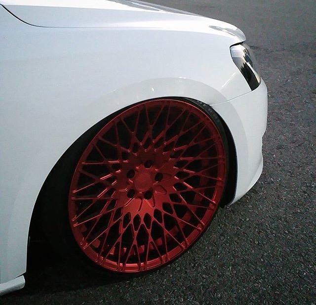 FS (~FT) Avant Garde M540 in Red Velvet, 20x10.5 ET+15 (with tires) Image11