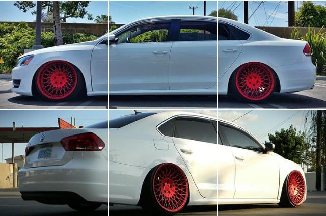 FS (~FT) Avant Garde M540 in Red Velvet, 20x10.5 ET+15 (with tires) Image12