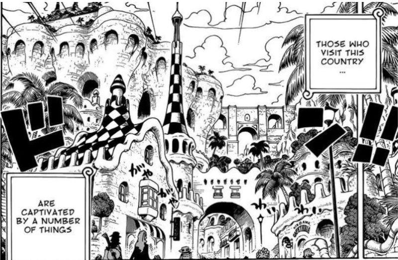 Alles nur geklaut... (Bekannte Motive & Inspirationen in One Piece) Gaudi11