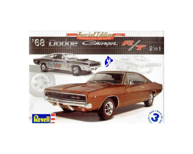 """#21 : Dodge Charger 68 PureVision """"TERMINEE"""" Maquet10"""