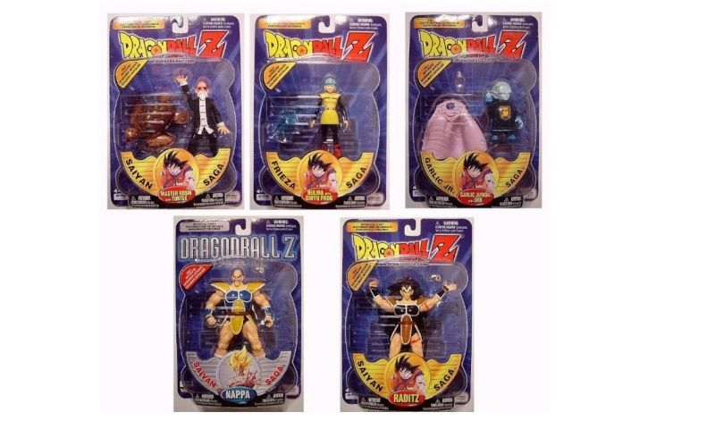 CERCO Dragon Ball Z Personaggi/Action Figures IRWIN 2001 Series10