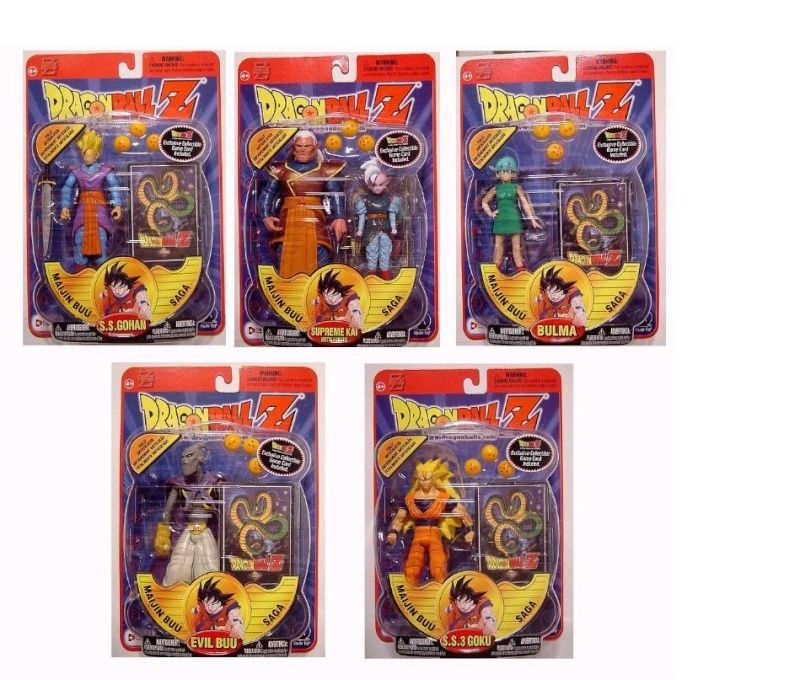 CERCO Dragon Ball Z Personaggi/Action Figures IRWIN 2001 Series11
