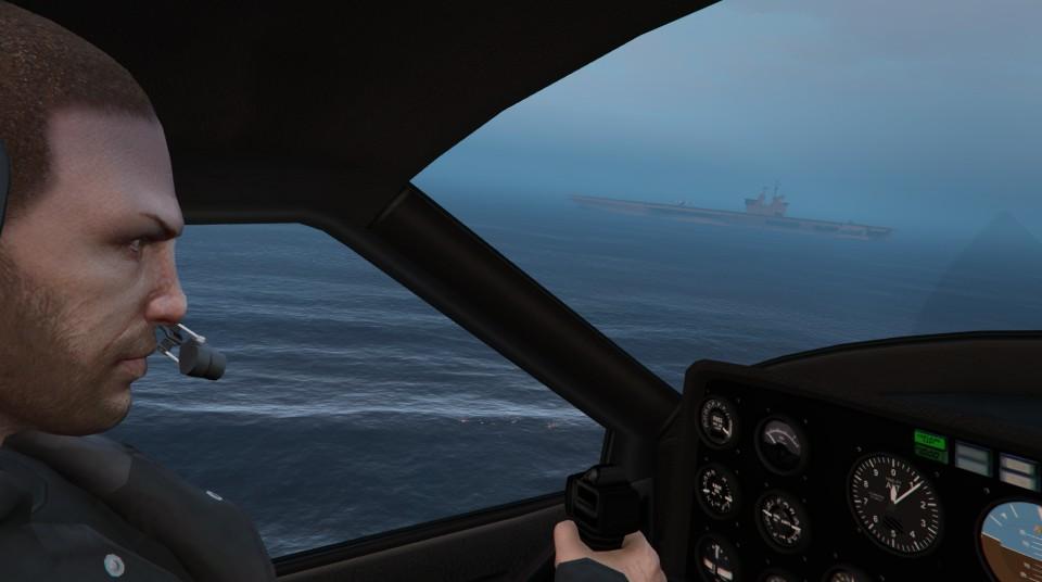 Photos du bel univers de GTA V PS3 / PS4 Angus_10