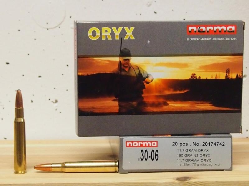 Norma Oryx 180 grains cal .30-06 Maxres10
