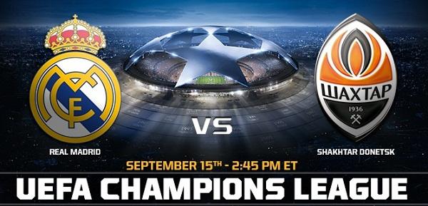 Real Madrid vs. Shakhtar Donetsk 01313812