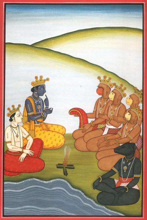 Uomini Elohim Uomini scimmia e altri Ominidi Antropoformi Vishnu10