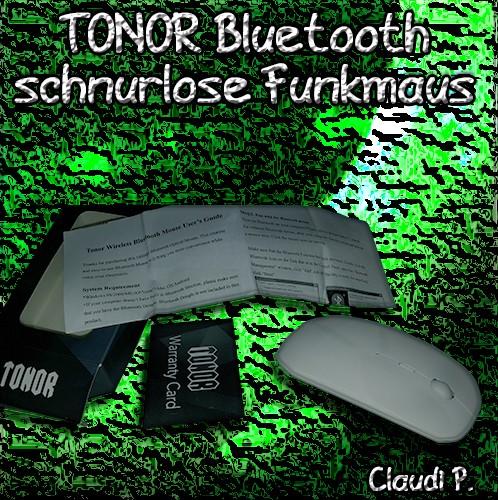 TONOR Bluetooth schnurlose Funkmaus Liefer14