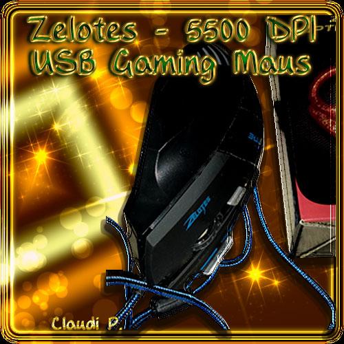 Zelotes -  5500 DPI USB Gaming Maus Maus-v10