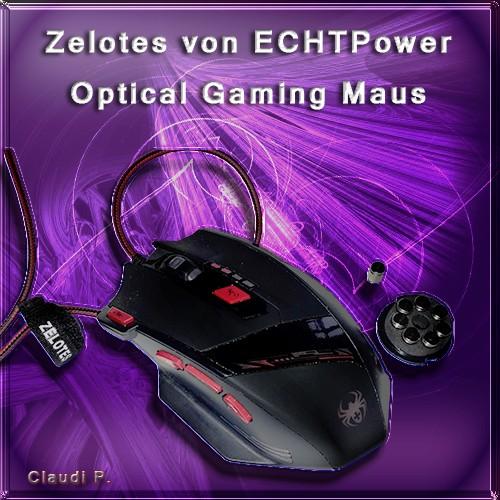 Zelotes von ECHTPower Profi 9200 DPI Optical 8 Tasten LED Gaming Maus Mausmi10