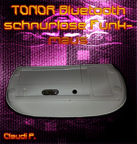 TONOR Bluetooth schnurlose Funkmaus Mausun10