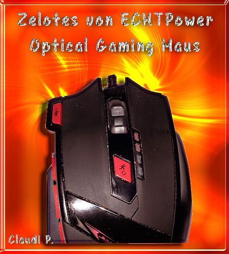 Zelotes von ECHTPower Profi 9200 DPI Optical 8 Tasten LED Gaming Maus Oberse10