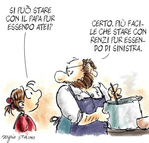 Dice il Saggio, citazioni di persone famose e di personaggi meno famosi - Pagina 2 Renzi-10