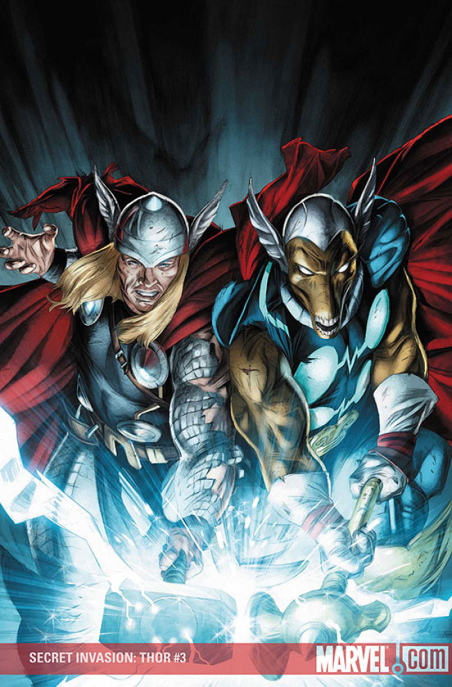 Thor and Beta ray bill vs goku and vegeta 24220110