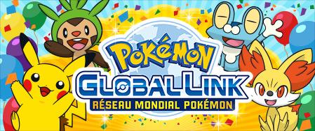 Obtenir des lots grâce au Pokémon Global Link Pgl0110