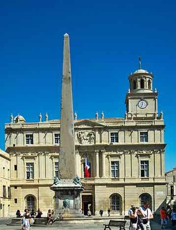 Maquette d'un monument dédié à Louis XVI Arles10