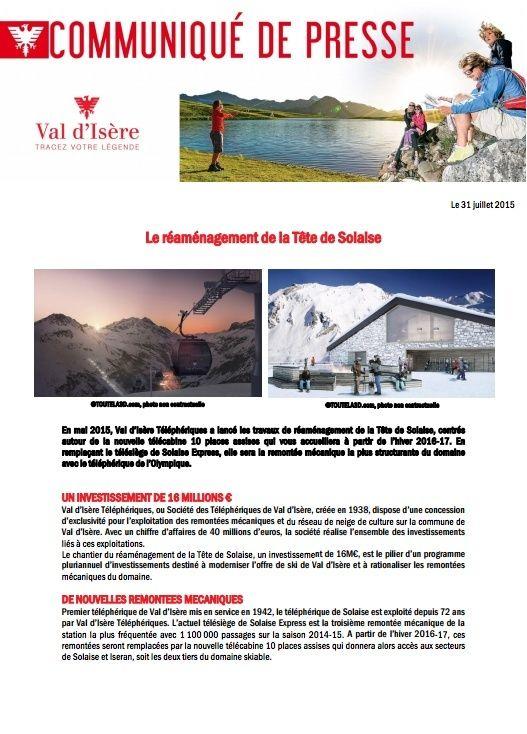 Construction télécabine (TCD10) Solaise 2015-2016 - Chantier Solaise Captur12