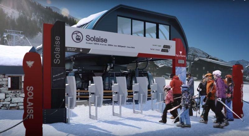 Construction télécabine (TCD10) Solaise 2015-2016 - Chantier Solaise Captur13
