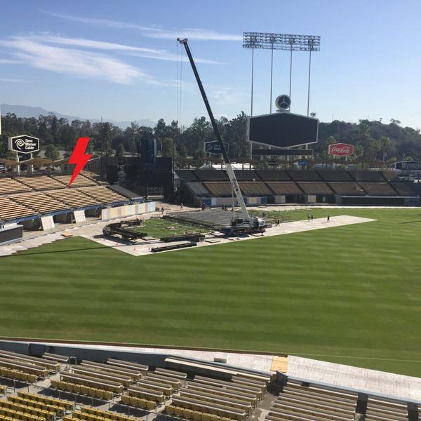 2015 / 09 / 28 - USA, Los Angeles, Dodger stadium 119