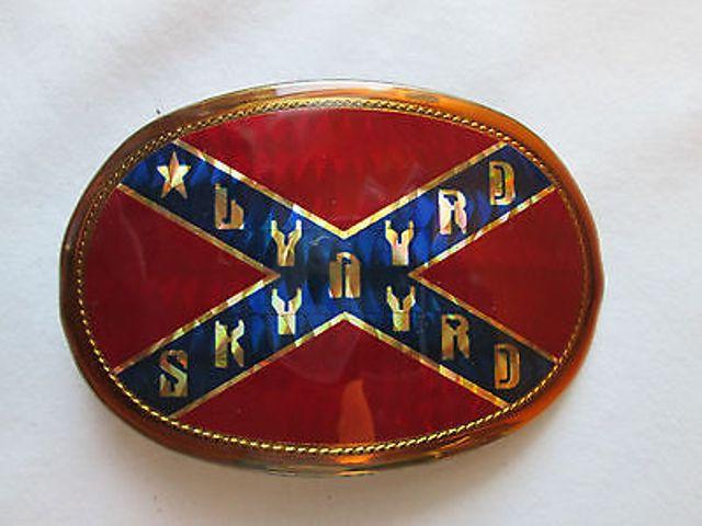 Lynyrd Skynyrd buckle belt 122