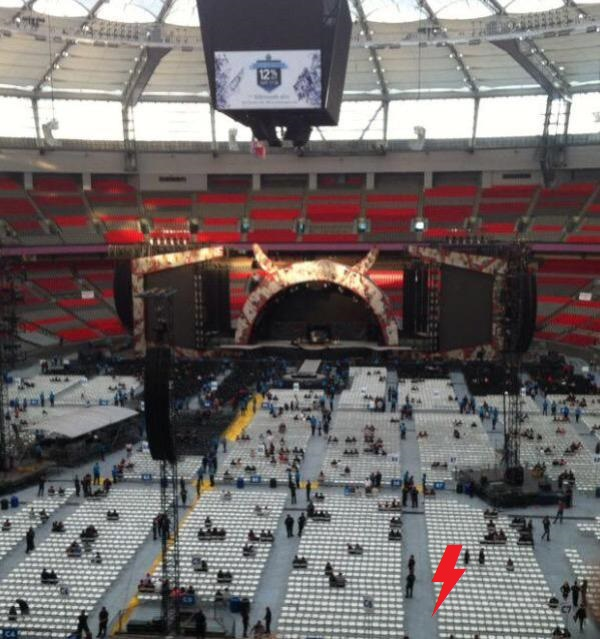 2015 / 09 / 22 - CAN, Vancouver, BC place 218