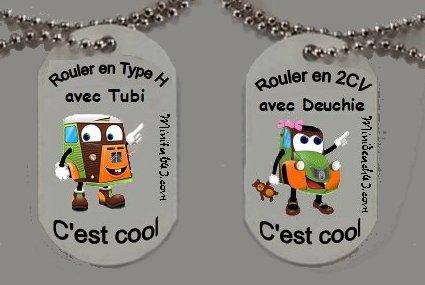 Plaque alu Tubi et Deuchie Image610