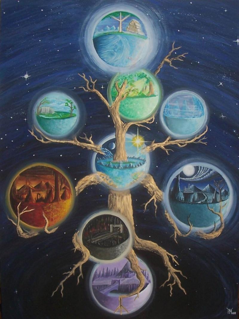 Yggdrasil - A Arvore dos Mundos Yggdra10