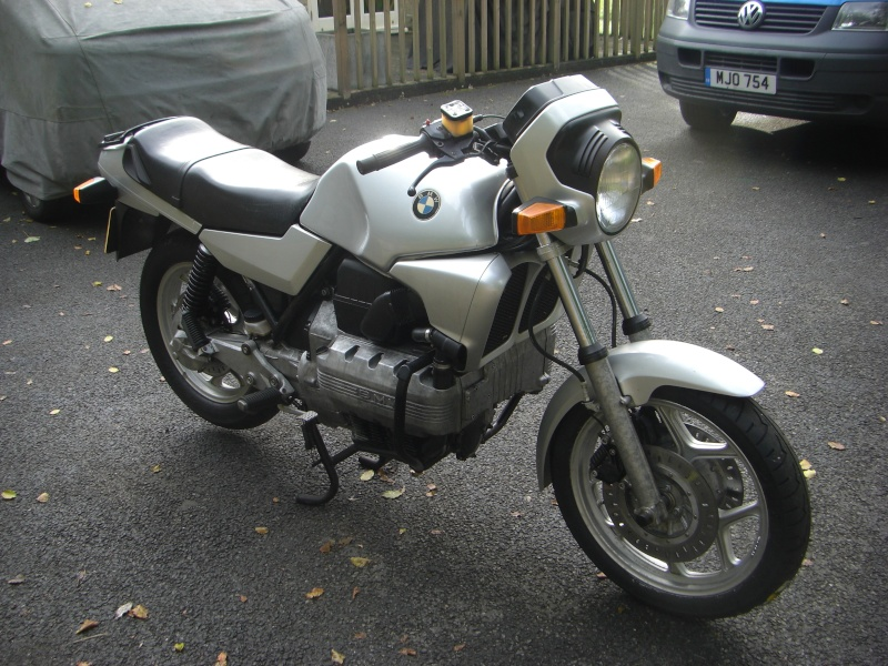 BMW K100RS, did they get the 100hp motor? Cimg2815