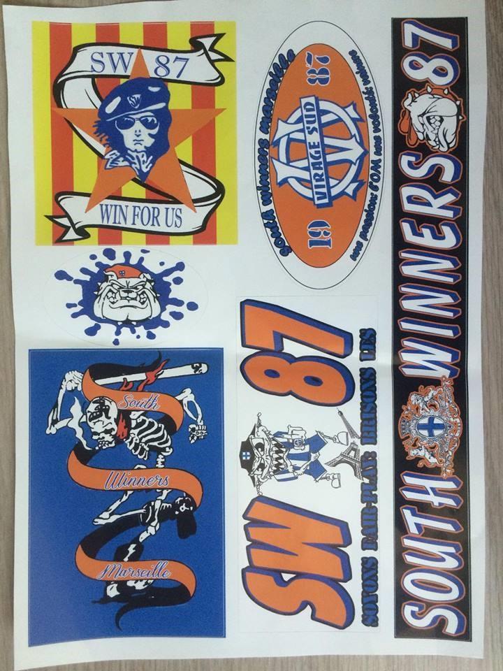 SOUTH WINNERS 1987 11826010