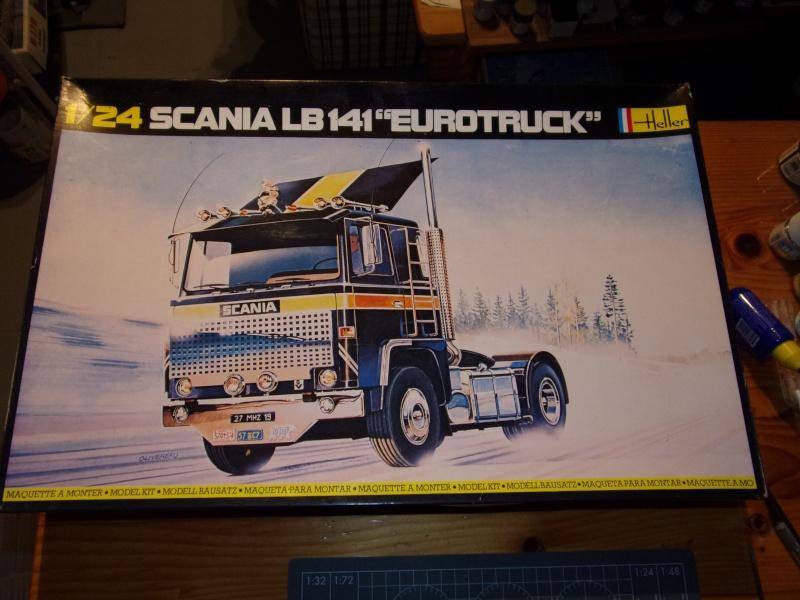 SCANIA LB141 EUROTRUCK 1/24ème Réf 775 100_0144