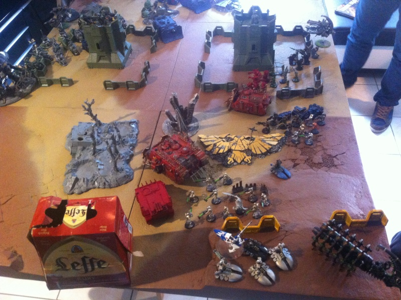 [ Bataille 8000 points ] - World Eaters & Nécrons VS Dark Angels & Rogal's Fists 1_110