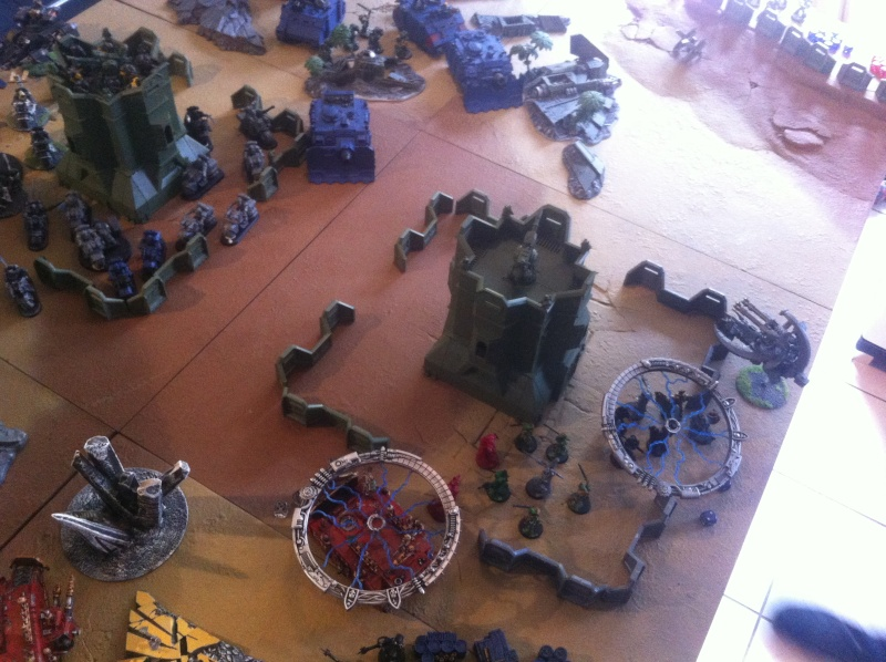 [ Bataille 8000 points ] - World Eaters & Nécrons VS Dark Angels & Rogal's Fists 1_1110