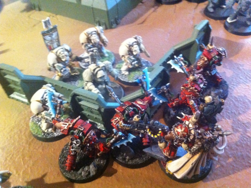 [ Bataille 8000 points ] - World Eaters & Nécrons VS Dark Angels & Rogal's Fists 1_1710