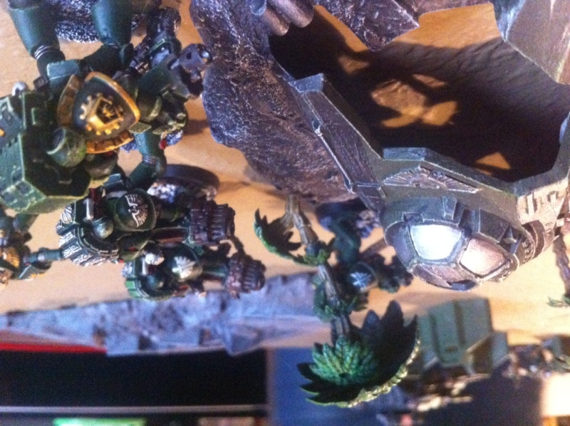 [ Bataille 8000 points ] - World Eaters & Nécrons VS Dark Angels & Rogal's Fists 1_1910