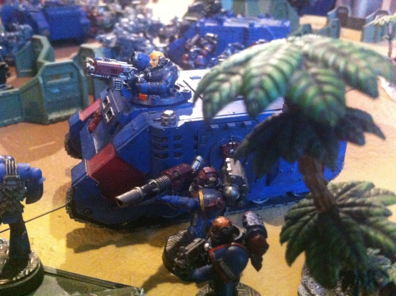 [ Bataille 8000 points ] - World Eaters & Nécrons VS Dark Angels & Rogal's Fists 1_2210