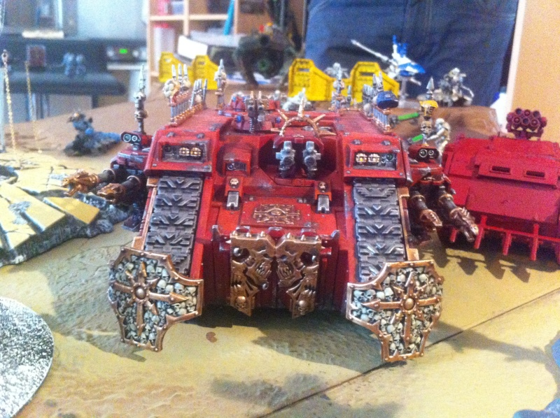 [ Bataille 8000 points ] - World Eaters & Nécrons VS Dark Angels & Rogal's Fists 1_410