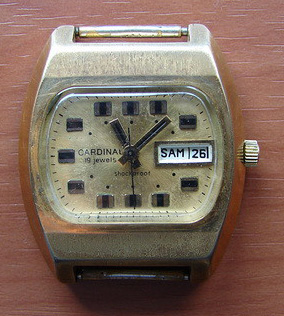 Une TV Dial from the seventies Raketa13