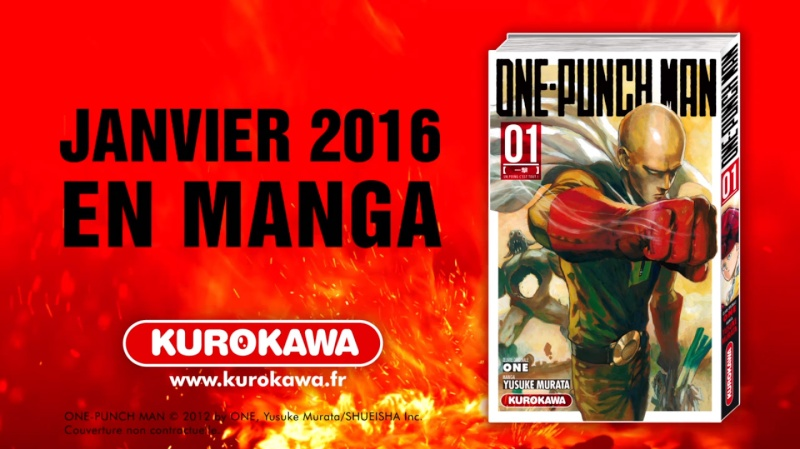 [ANIME/MANGA] One punch man  One-pu11
