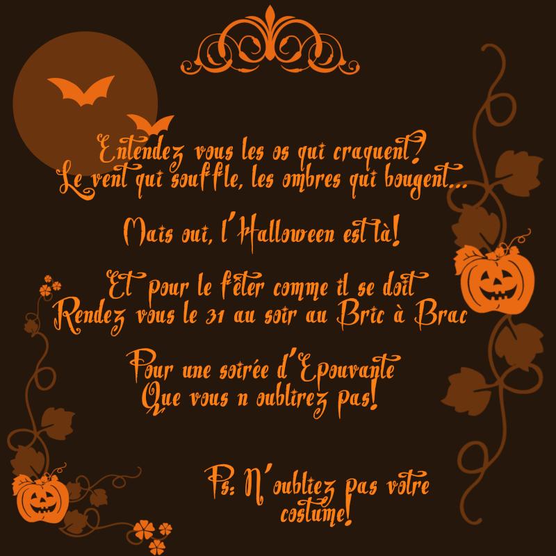 Soirée Contée (Dixième Edition) - Spéciale Halloween!  Affich10