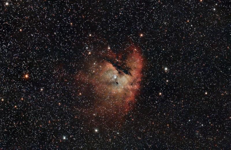 NGC281 la nébuleuse PACMAN Integr10