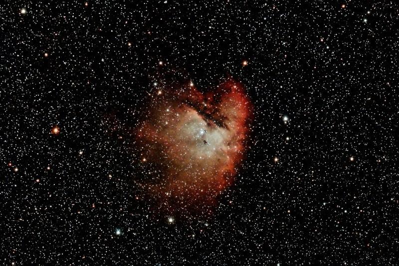 NGC281 la nébuleuse PACMAN Integr11