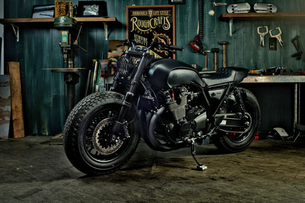 "XJR 1300 ""Guerilla four"" de Rough Crafts Xjr-1310"